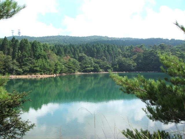 昭和池から野呂山国有林の眺望(呉市)