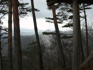 釜ヶ峰 八国見山方面