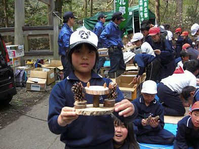 釜ヶ峰森林教室