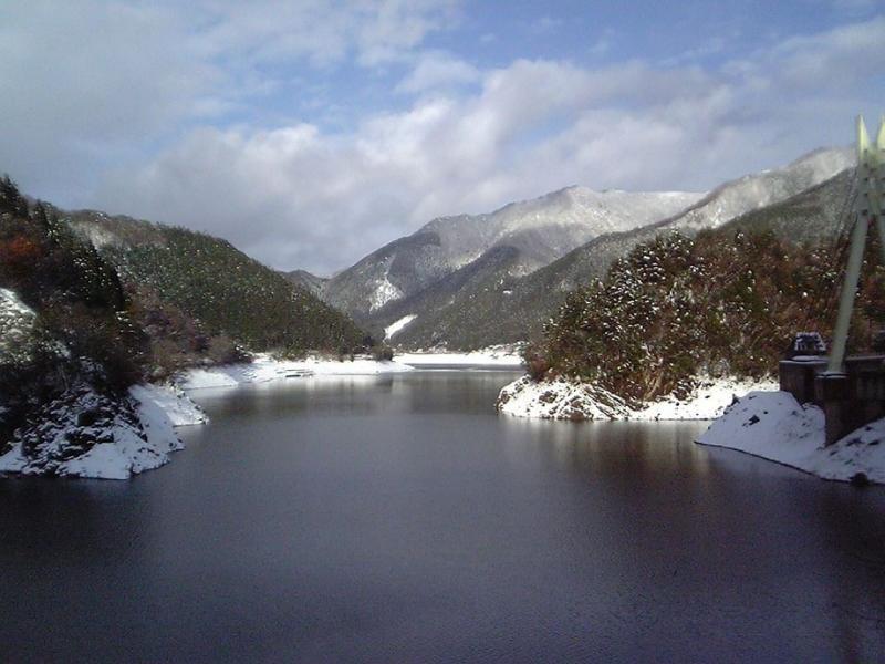 音水湖~雪景色~