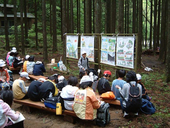 森林教室:赤西国有林
