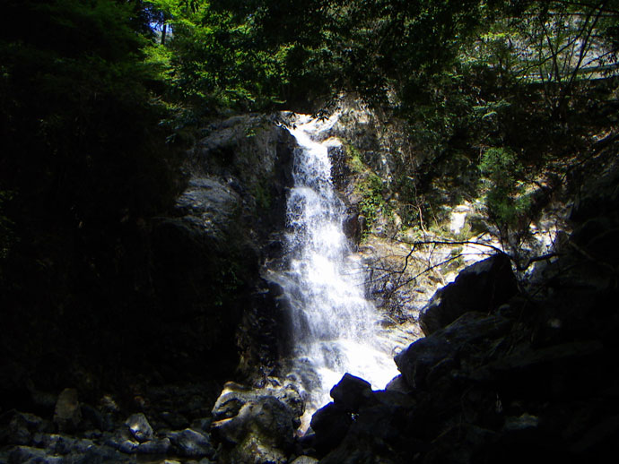 延ヶ滝:河原山国有林