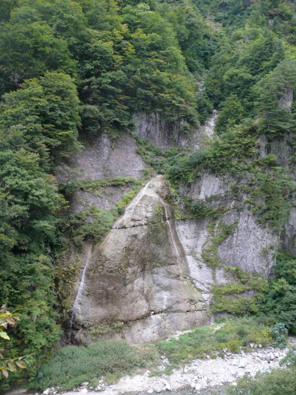 赤石の滝:蛇谷国有林