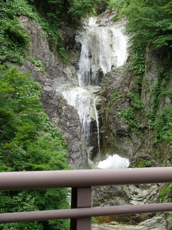 かもしか滝(五色滝):蛇谷国有林