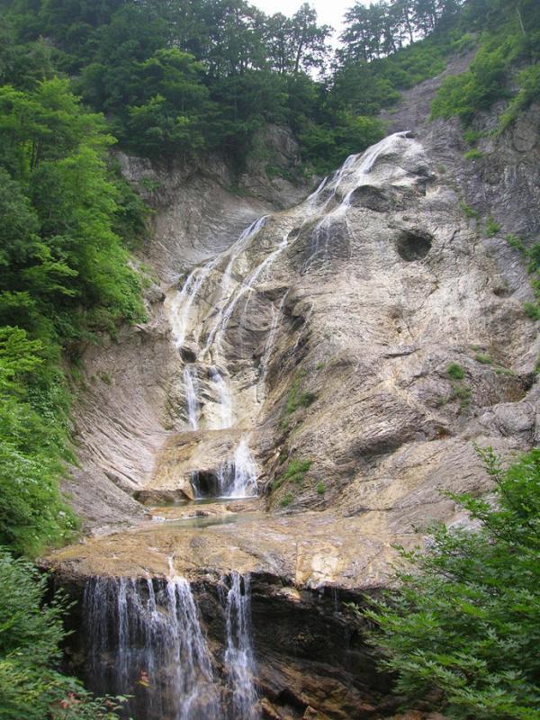 姥ヶ滝:蛇谷国有林