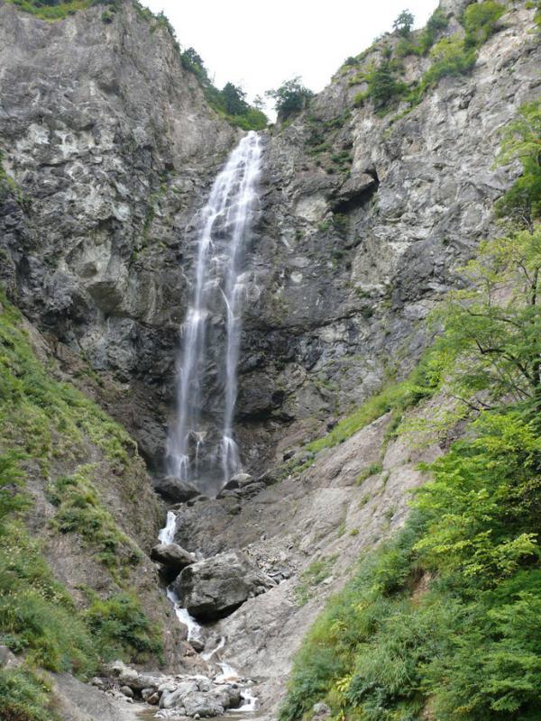 ふくべの大滝:蛇谷国有林
