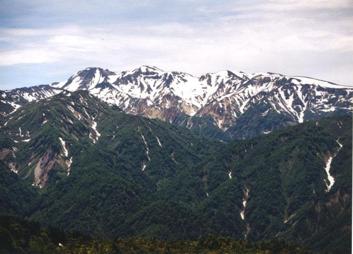 白山山系:緑の回廊