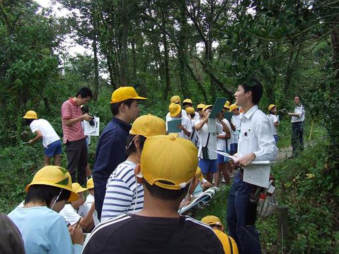 加賀自然休養林自然観察会