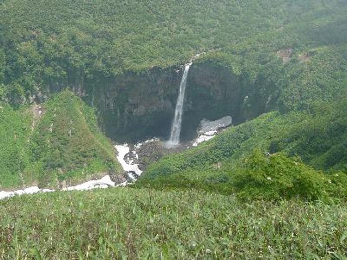 百四丈の滝:大汝国有林