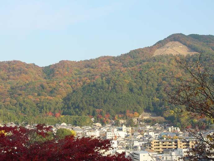 銀閣寺山(遠景)
