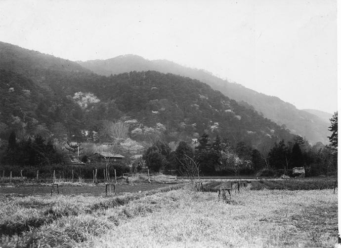 嵐山(古写真)