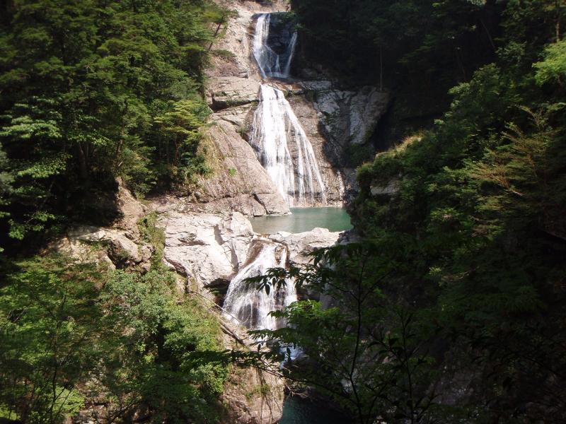 七ツ釜滝:大杉谷国有林