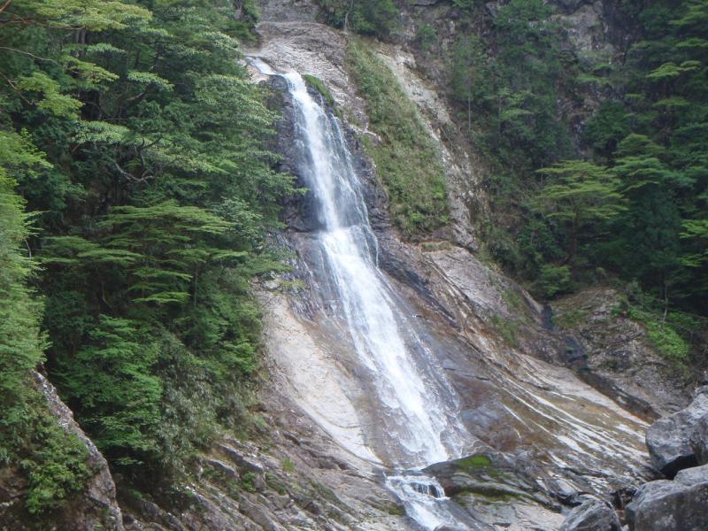光滝:大杉谷国有林