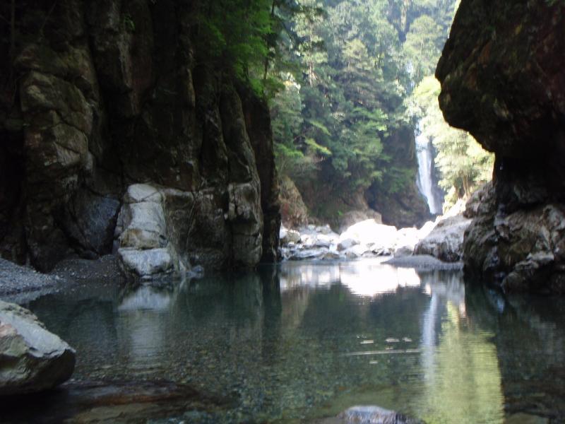 シン淵:大杉谷国有林