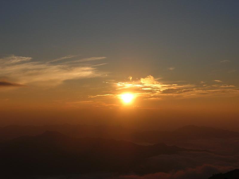 25.山上ヶ岳日の出