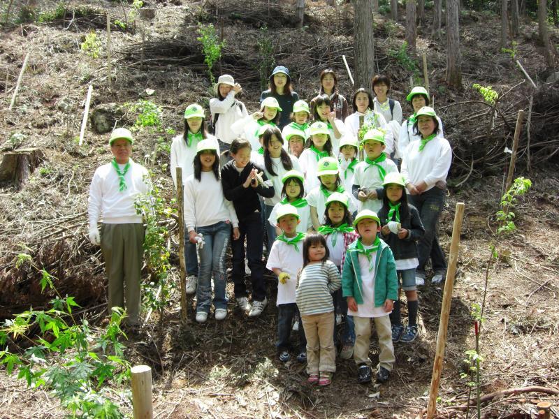 奥島山国有林基金の森植樹祭