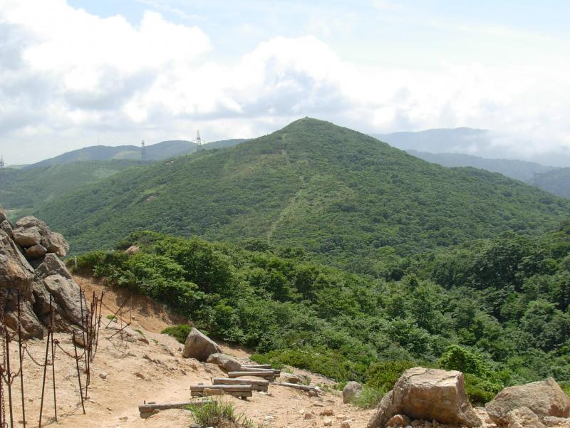 明王ノ禿から赤坂山