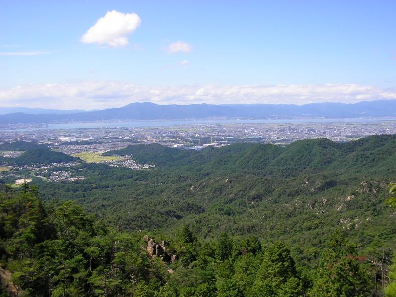 一丈野国有林琵琶湖・比叡山