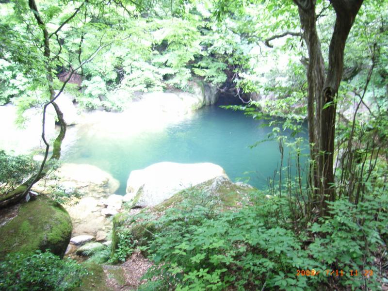 三德谷風景林 小鹿渓