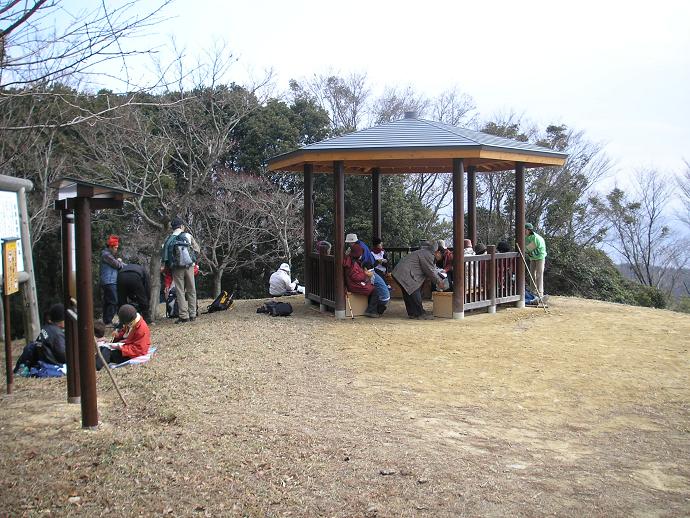 紀泉高原国有林(六角堂)