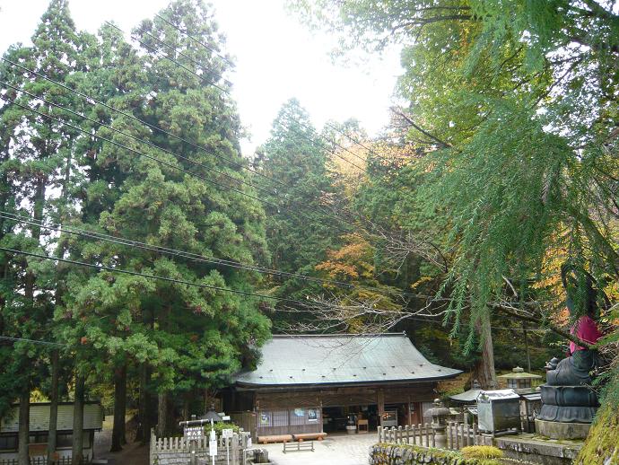 女人堂と高野山国有林