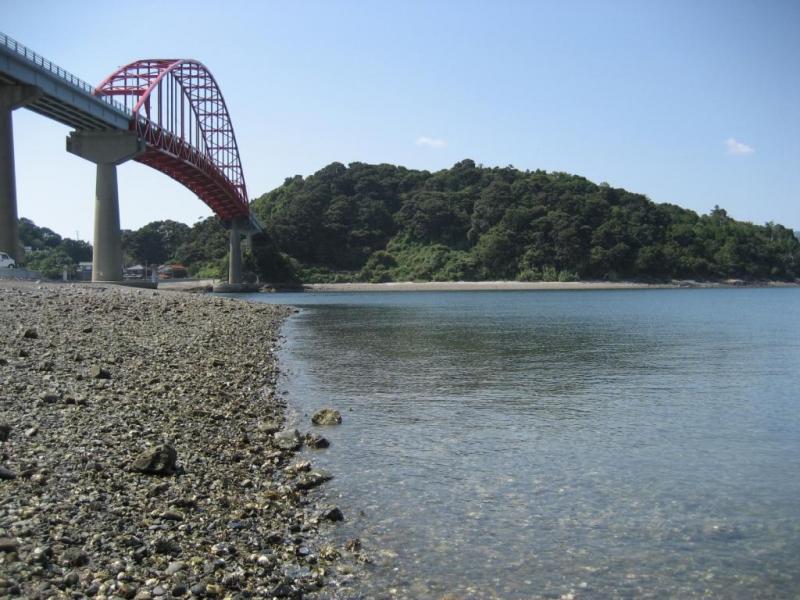 笠戸大橋と笠戸島:笠戸島国有林
