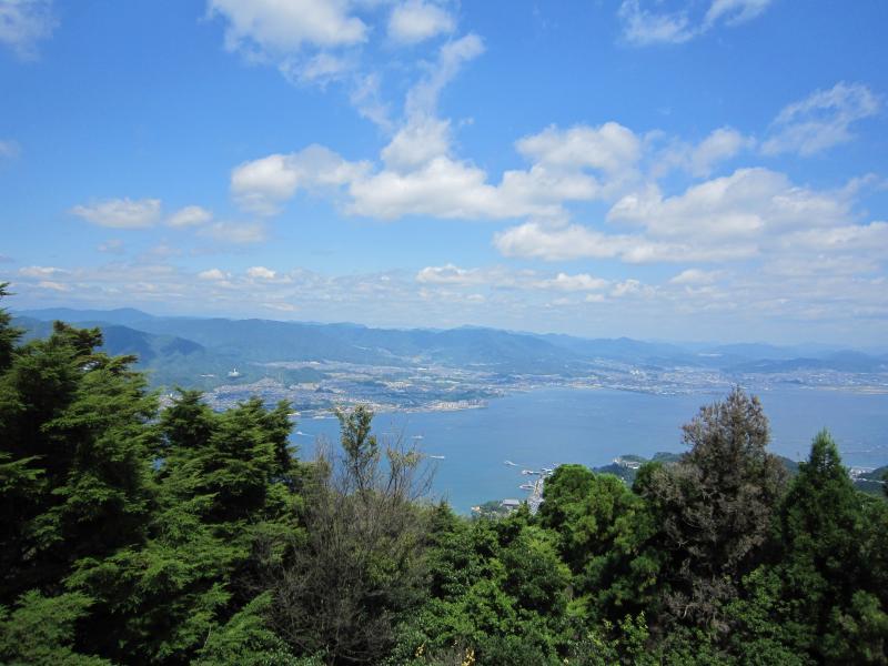 瀬戸内海を望む【宮島】