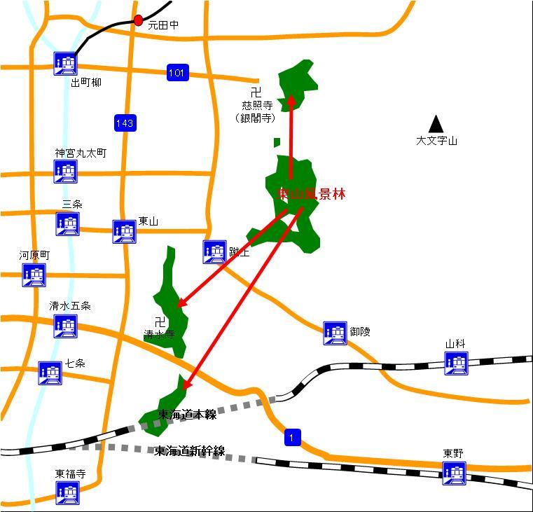東山風景林_マップ