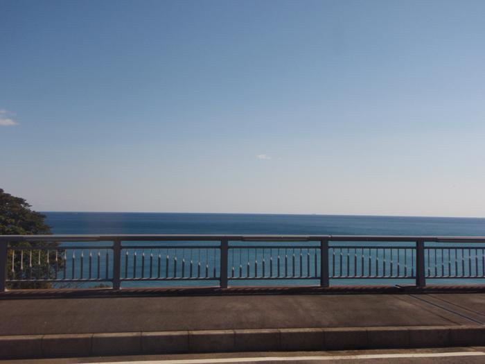 大浜から熊野灘