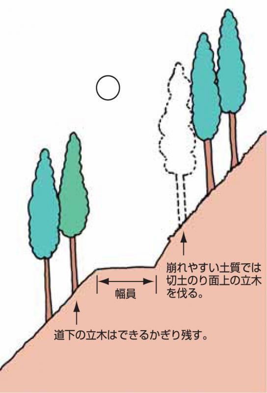 Ⅵ 森林作業道づくり-3