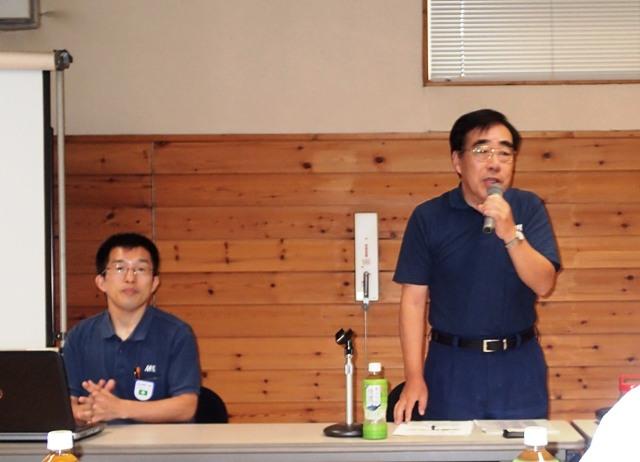 田口代表取締役専務