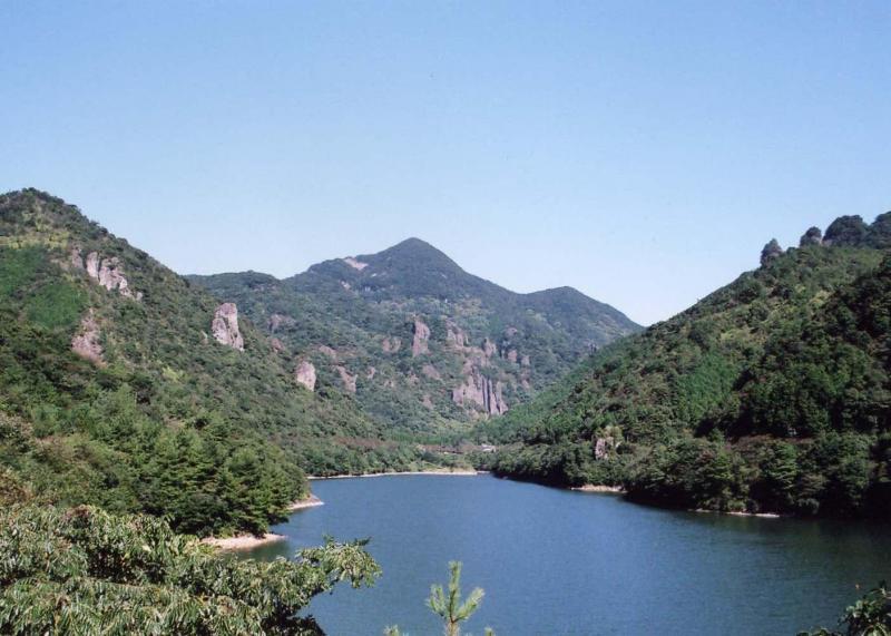 黒髪山自然休養林ー青螺山眺望
