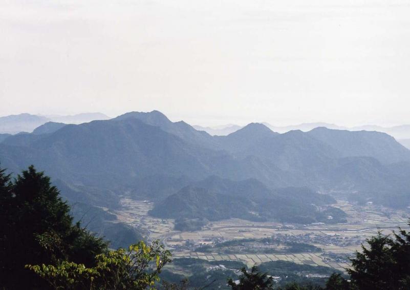 黒髪山自然休養林ー黒髪山眺望