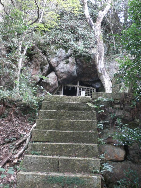 黒髪山自然休養林ー白山神社