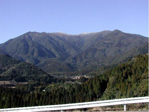 おおすみ自然休養林ー高隈山眺望