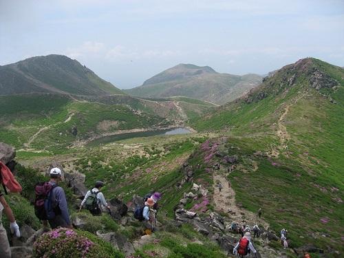 中岳山頂からの展望