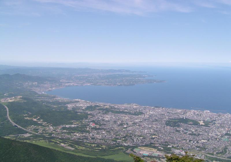 由布鶴見岳自然休養林ー鶴見岳からの眺望