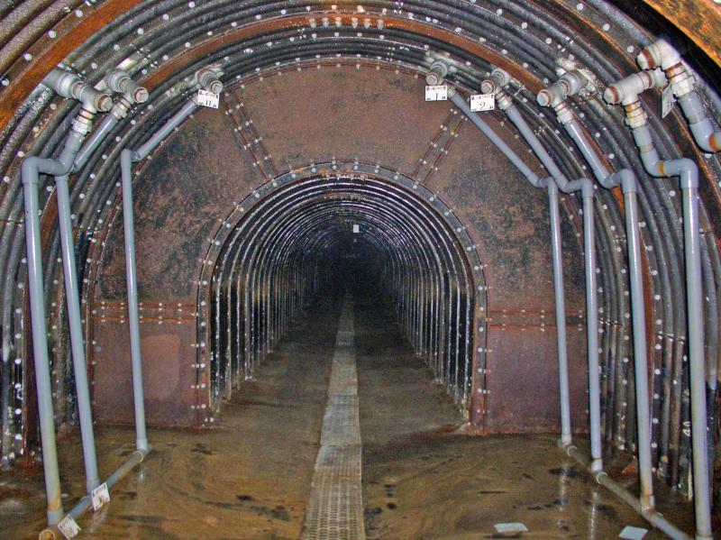 ボーリング室(トンネル暗渠工)